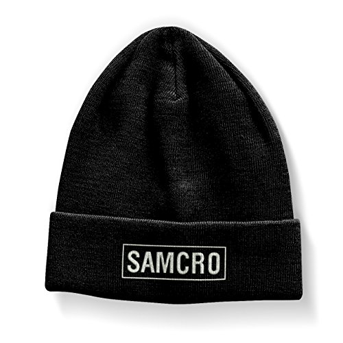 Preisvergleich Produktbild Officially Licensed Merchandise SAMCRO Embroidered Beanie (Black)