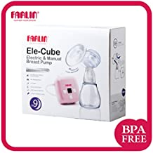Farlin Manual and Electric Breast Pump (White)