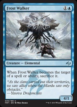 Magic: the Gathering - Frost Walker (025/185) - Fate Reforged - Foil by Magic: the Gathering -