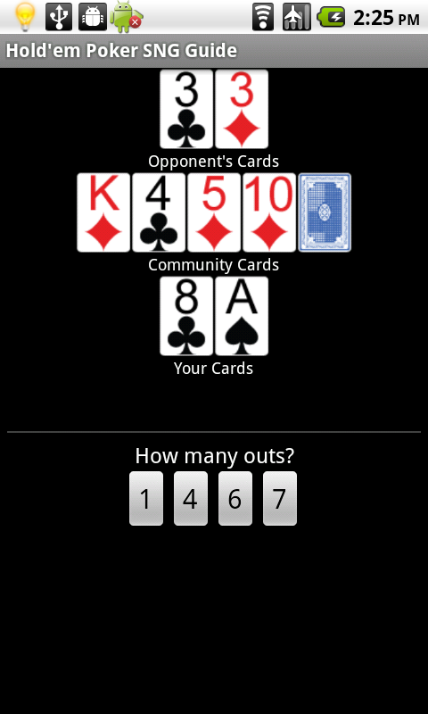 Guide poker holdem