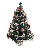 Reutter Porzellan Miniaturen - geschmückter Weihnachtsbaum 18cm Hoch (1889.0)