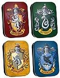 Harry Potter École Maison Pilulier potlatchs Lot de 4boîtes