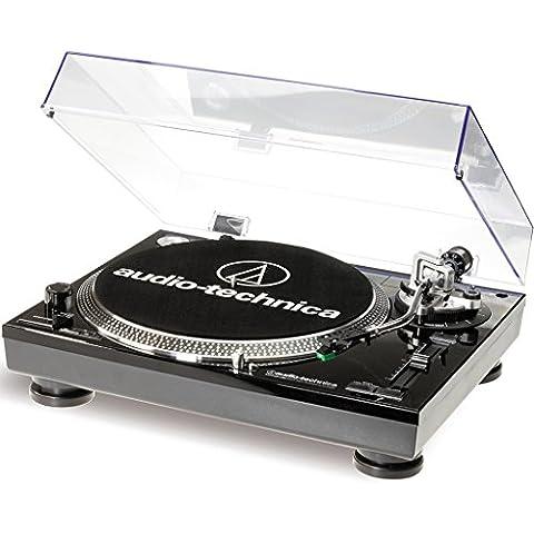 Audio-Technica AT-LP120USBCBK tocadisco - Tocadiscos (1.1, Corriente alterna, 11W, 115-230V, Windows XP, Vista, MAC OSX,
