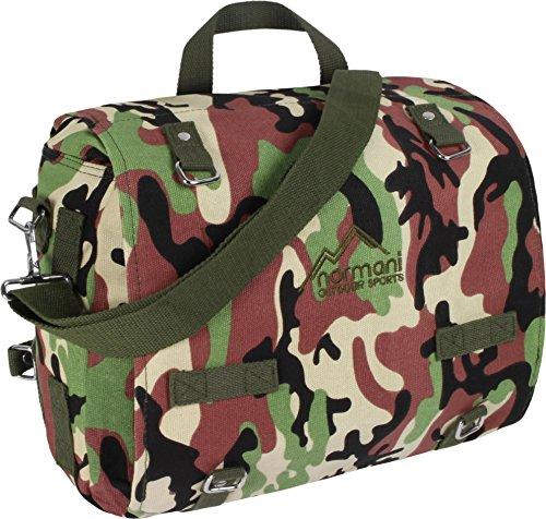 BW-Canvas-Kampftasche, groß Woodland