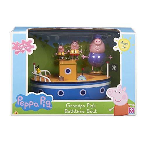 Peppa Pig Character Options 2693 - Barco para el baño con diseño 1