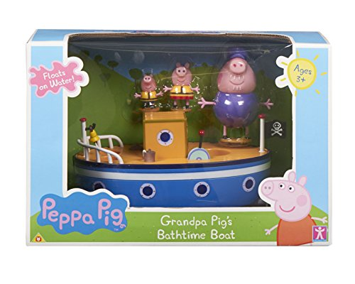 Peppa Pig Character Options 2693 - Boat for the bathroom with design