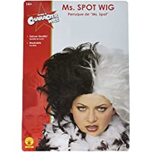 Rubies Gothic Fetish Ms.Spot Vampire Rock Star Wig One Size
