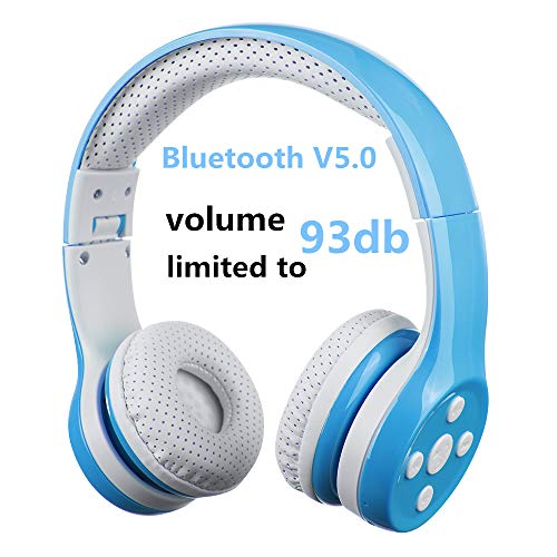 Cuffie Bluetooth wireless per bambini,Hisonic Cuffie bluetooth per bambini Ideale Regalo...