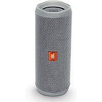 JBL FLIP 4 (Ein voll ausgestatteter, wasserdichter und mobiler Bluetooth-Lautsprecher mit überraschend kraftvollem Sound) grau