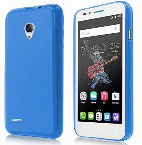 TBOC® Blau Gel TPU Hülle für Alcatel One Touch Go Play (5.0 Zoll) Ultradünn Flexibel Silikonhülle