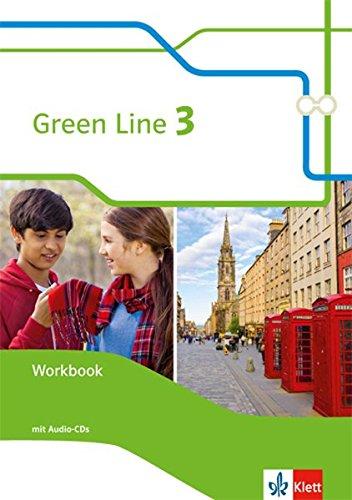Green Line 3: Workbook mit 2 Audio-CDs Klasse 7 (Green Line. Bundesausgabe ab 2014) 3 Audio