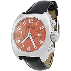 Pasquale Bruni Uomo Chronograph Edelstahl Swiss Made Automatik Herren-Armbanduhr 01MCA42
