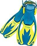 Cressi Rocks Kinder Flossen Italienische Qualität seit 1946, USF020202B, cool blue, S/M