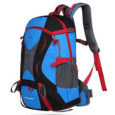 BEIBAO 36-55 L Tourenrucksäcke/Rucksack Travel Duffel Rucksack Camping & Wandern Klettern Legere Sport Reisen Wasserdicht Regendicht Tactel, Yellow -
