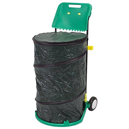 NATURE Trolley pour déchets de jardin - 76x47,5cm - Nature