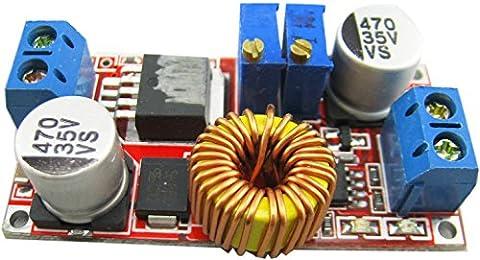 Kissing U DC5-3V DC 0.8-30V Module de Charge Réglable Buck Step Down Converter DC à Driver DC LED Haute Actuel Module D'alimentation Régulateur de Tension Constante Power Board Tension D'alimentation