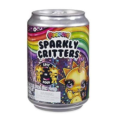 Poopsie Sparkly Critters Que mágicamente Caca o escupe Baba, Multicolor (MGA Entertainment UK LTD 561057) de MGA Entertainment UK LTD