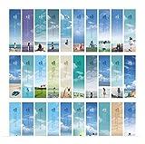 Retro-Stil schönes Strand Fotos chinesischen Lesezeichen(30 Stück)