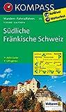 Südliche Fränkische Schweiz: Wanderkarte mit Aktiv Guide und Radwegen - GPS-genau - 1:50000 (KOMPASS-Wanderkarten, Band 171) -