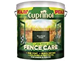 Cuprinol LMFCWG6L Less Mess Fence Care Woodland Green 6 Litre, 6l