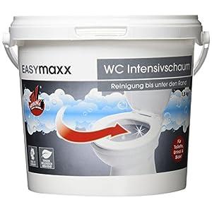 EASYmaxx WC-Schaum Eimer 1er Pack (1 x 1,5 kg) Toiletten Reiniger aus dem TV – universal Reinigungsschaum – Hergestellt in Deutschland