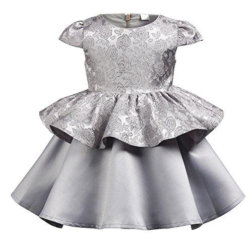 (Shiningup Kid Mädchen Prinzessin Party Kleid formale Phantasie Baby Tutu Outfit für 1-6 Jahre alt)