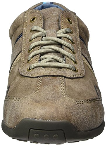 camel active Herren Space 27 Low-Top Braun (brown/peat/taupe 03)