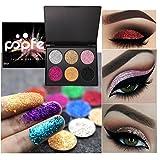 gaddrt Lidschatten Shimmer Glitter Pulver Palette Matte Lidschatten Kosmetik Make-Up (A)