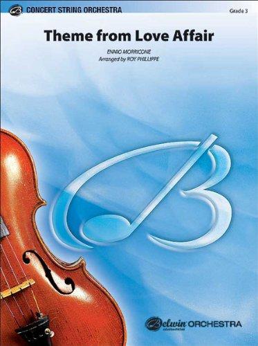 ALFRED PUBLISHING MORRICONE ENNIO - LOVE AFFAIRME FROM - STRING ORCHESTRA Noten Pop, Rock, .... Streichinstrumente