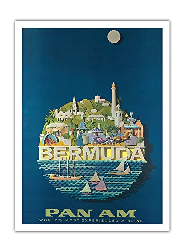 bermuda-pan-american-airlines-airline-affiche-vintage-de-voyage-vintage-airline-travel-poster-by-ray