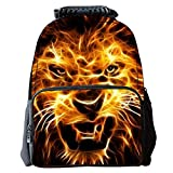 Ankoee Boys Girls Casual Backpack 3D Animals Print School Backpack Bags Laptop Hiking Daypack Children's Backpack (Color-01)
