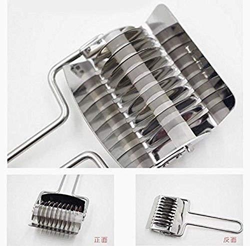 Snner Edelstahl Nudelhersteller Maschinen, manuelle Nudel-Maschine, Pasta Spaghetti Roller Teigschneider Küche, die Werkzeug-Gebäck-Werkzeug