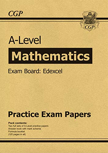 New A-Level Maths Edexcel Practice Papers (for the exams in 2019) por CGP Books