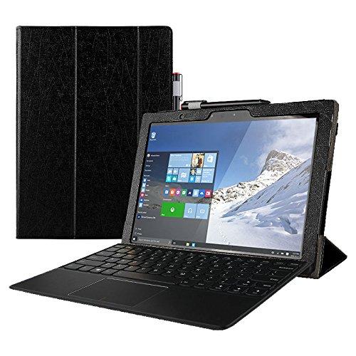 WiTa-Store Hülle für Lenovo MIIX 510 mit 12.2 Zoll Schutz Hülle Flip Case Stand Etui + Gratis Touch Pen