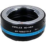 Vizelex ND Throttle de Fotodiox Pro Adaptateur de monture d'objectif avec Variable Filtre ND -ND2-ND32 - pour Objectif Minolta MD/ MC/ Rokkor à Caméra Sony E mount comme Sony Alpha a7/ a7II/ NEX-5/ NEX-7