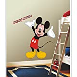 Gloob Decal Style Mickey Mouse Wall Sticker For Kids Room |Living Room|Bedroom|Office PVC Vinyl Art Decals( 20X30 Inch)