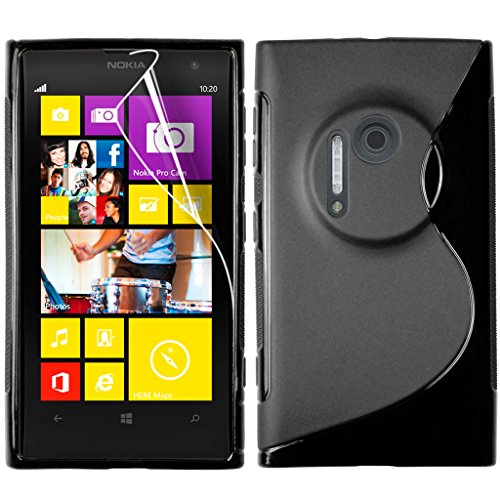 S Case Anti-skid Soft TPU Back Case Cover for Nokia Lumia 1020 (Black)  available at amazon for Rs.139