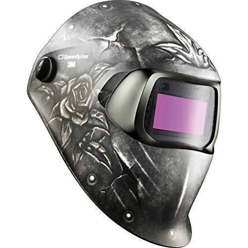 Preisvergleich Produktbild SPEEDGLAS 100 Steel Rose Schweißermaske Schweißhelm Automatikmaske