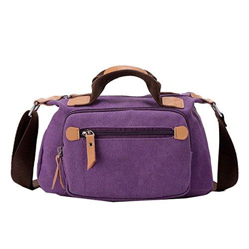 Yy.f Handtasche Damen-Einzel Schultertaschen Handtaschen Handtaschen Lässig Abendessen Taschen Mode Extrinsische Intrinsische Und Praktisch. Multicolor Purple