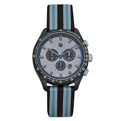 Mercedes Benz Original Men's Wristwatch Chronograph Stainless Steel
