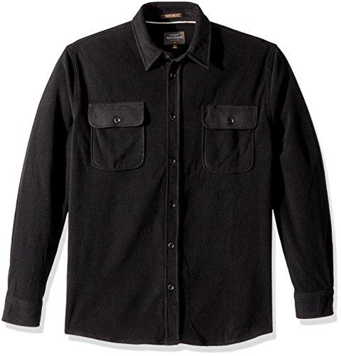 Quiksilver Herren River Wild Long Sleeve Polar Fleece Shirt Smokinghemd, schwarz, XX-Large Long Sleeve Polar Fleece