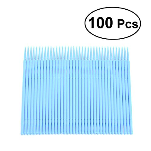 Ultnice 100bastoncillos desechables microfibra Pincel