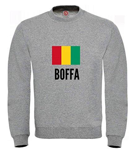 Felpa Boffa city Gray