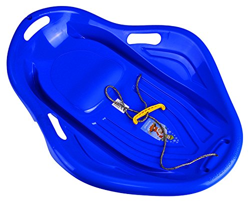 Plastikschlitten Bob Schneebob Kinderschlitten Rodel Schlitten Plastik Winter