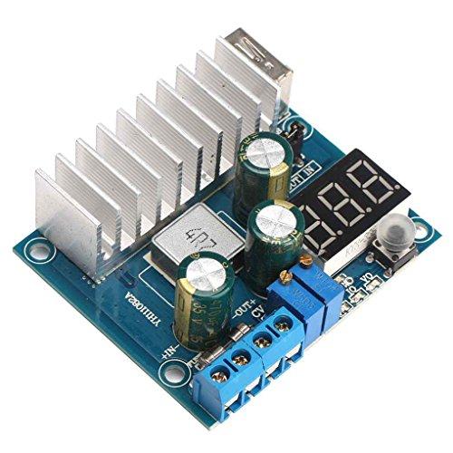 Bobury 100W DC Step-up-Spannungswandler Constant 3V-35V 6A USB-Ausgang Einstellbare Stromversorgung Boost-Modul