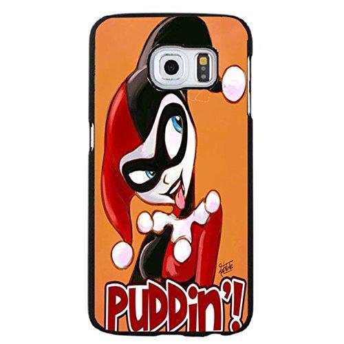 Funny Puddin Stil Comic Zeichen Harley Quinn und der Joker Handytasche Schutzhülle für Samsung Galaxy S6Edge Plus Super Hero (Quinn Harley Zeichen)