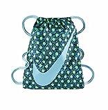 Nike Tasche YA Graphic Gymsack, Unisex, Kinder, Verde / Negro (Electro Green/Tdplbl/Tdplbl), Einheitsgröße