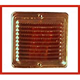 La rejilla de cobre plana cuadrada con los insectos de la rejilla de diferentes tamaños