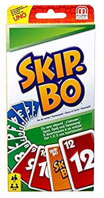 Mattel - Jeu de carte - Skip-Bo