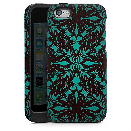 Apple iPhone 4 Housse Étui Silicone Coque Protection Motif Motif Gothique Cas Tough brillant